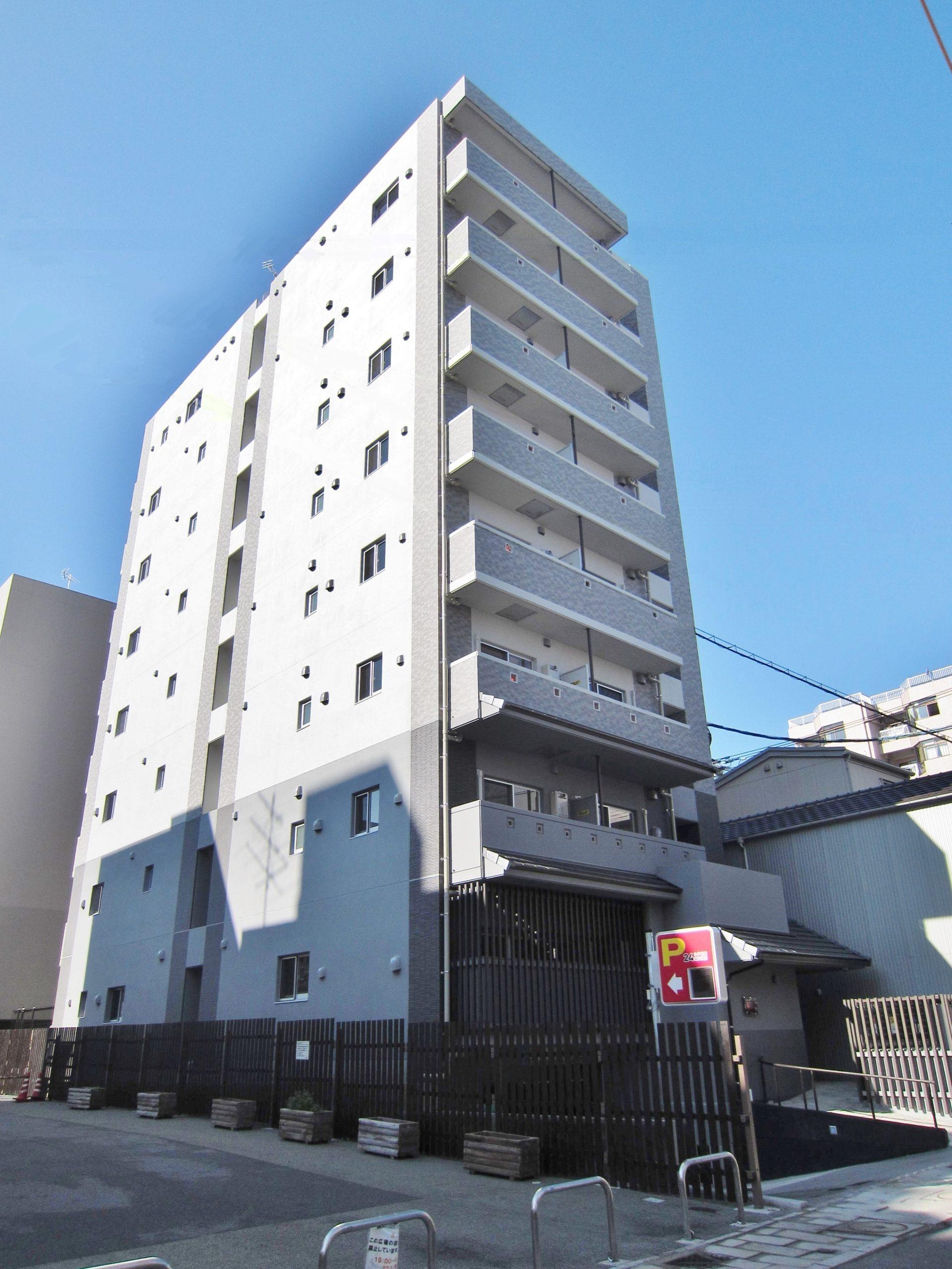 古川町マンション 新築工事