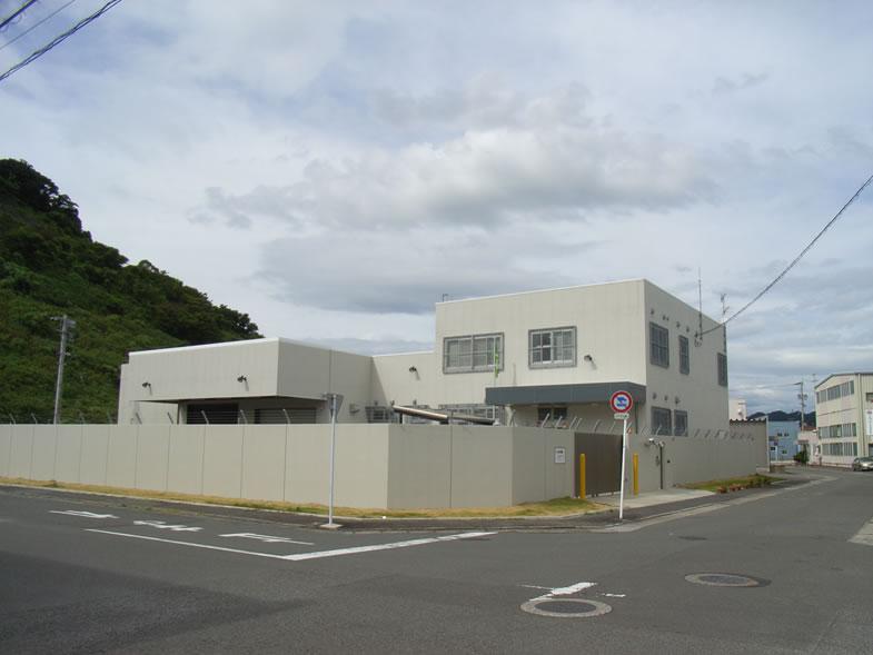 日通警送センター 新築工事