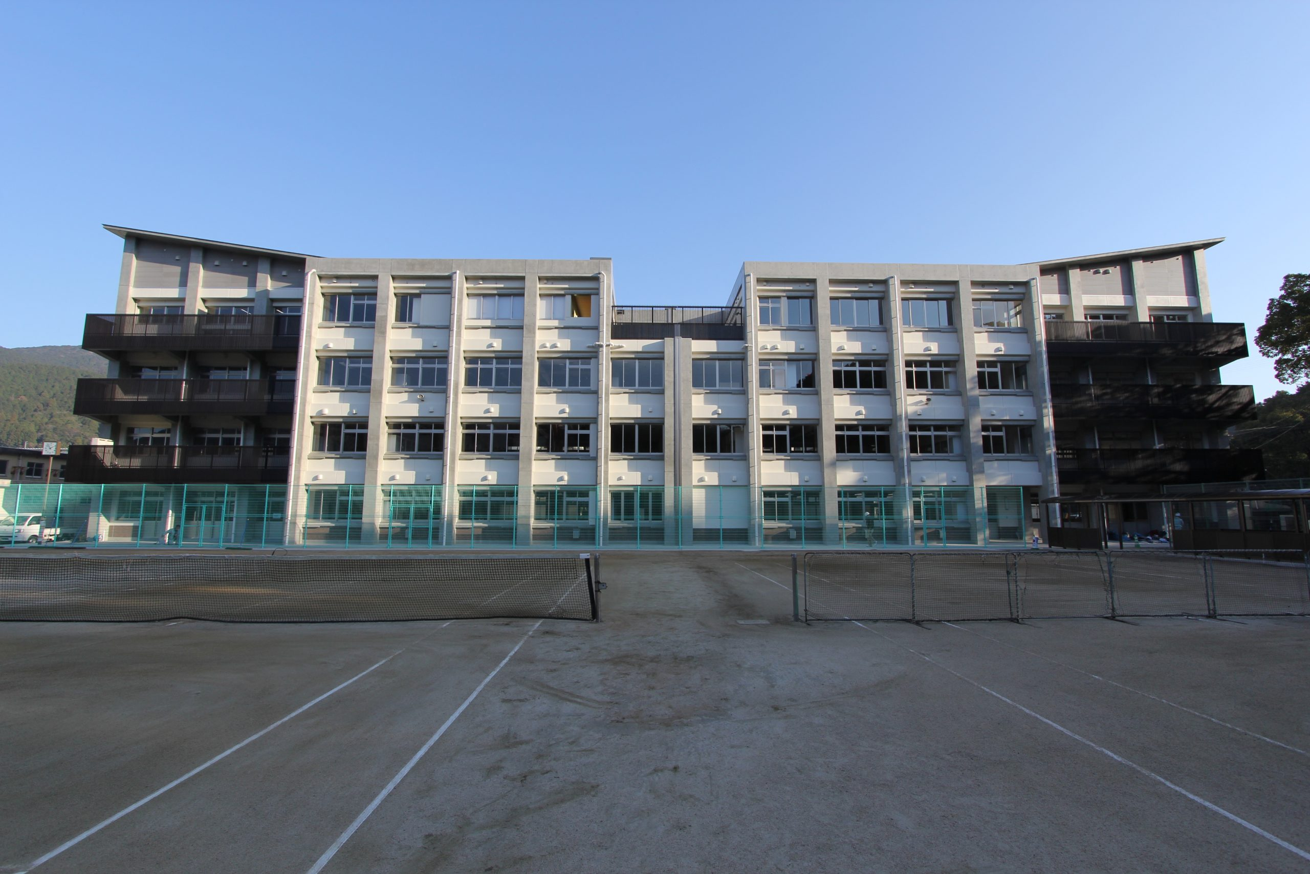 長崎北高校 特別教室棟改築工事(2工区)